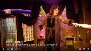 Fifi La Rue Drag Legends Epic Bar 12-17-2017